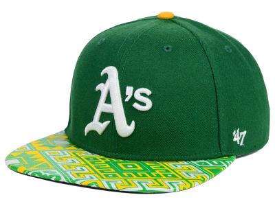 Oakland Athletics '47 MLB Coop Moroc '47 Pro Fitted Cap