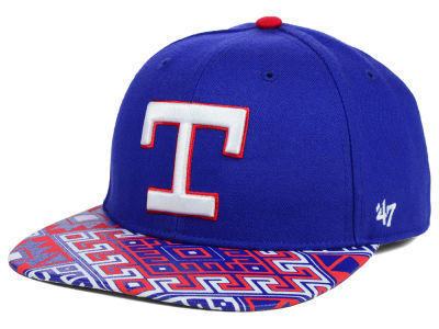 Texas Rangers '47 MLB Coop Moroc '47 Pro Fitted Cap