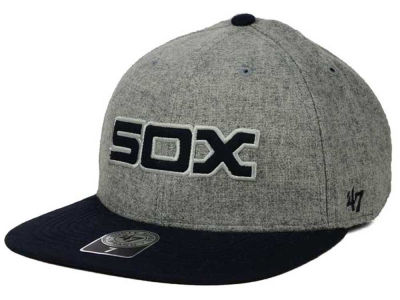 Chicago White Sox '47 MLB Coop Gray Hoffman '47 Pro Fitted Cap