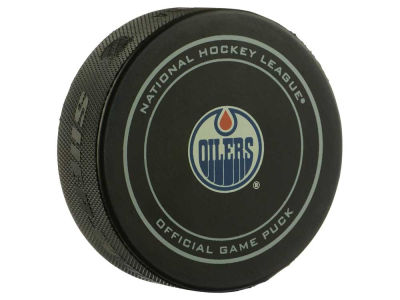 Edmonton Oilers My First Official Game Puck