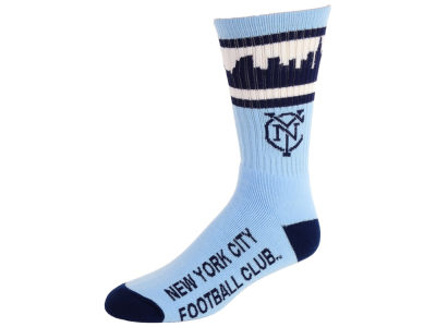 New York City FC Skyline Stripe Crew Sock