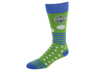 Seattle Sounders FC Dots and Stripes Sock