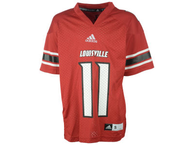 Louisville Cardinals #11 NCAA Youth Replica Football Jersey