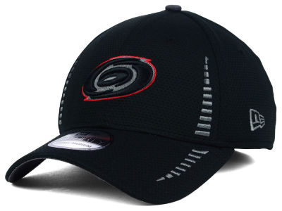 Carolina Hurricanes New Era NHL Black Ice 39THIRTY Cap