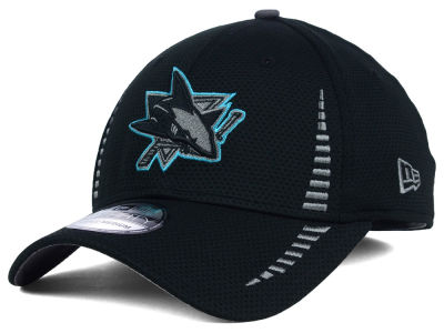San Jose Sharks New Era NHL Black Ice 39THIRTY Cap
