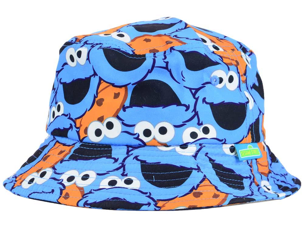 Cookie Monster Sublilmated Bucket Hat  140365d1037