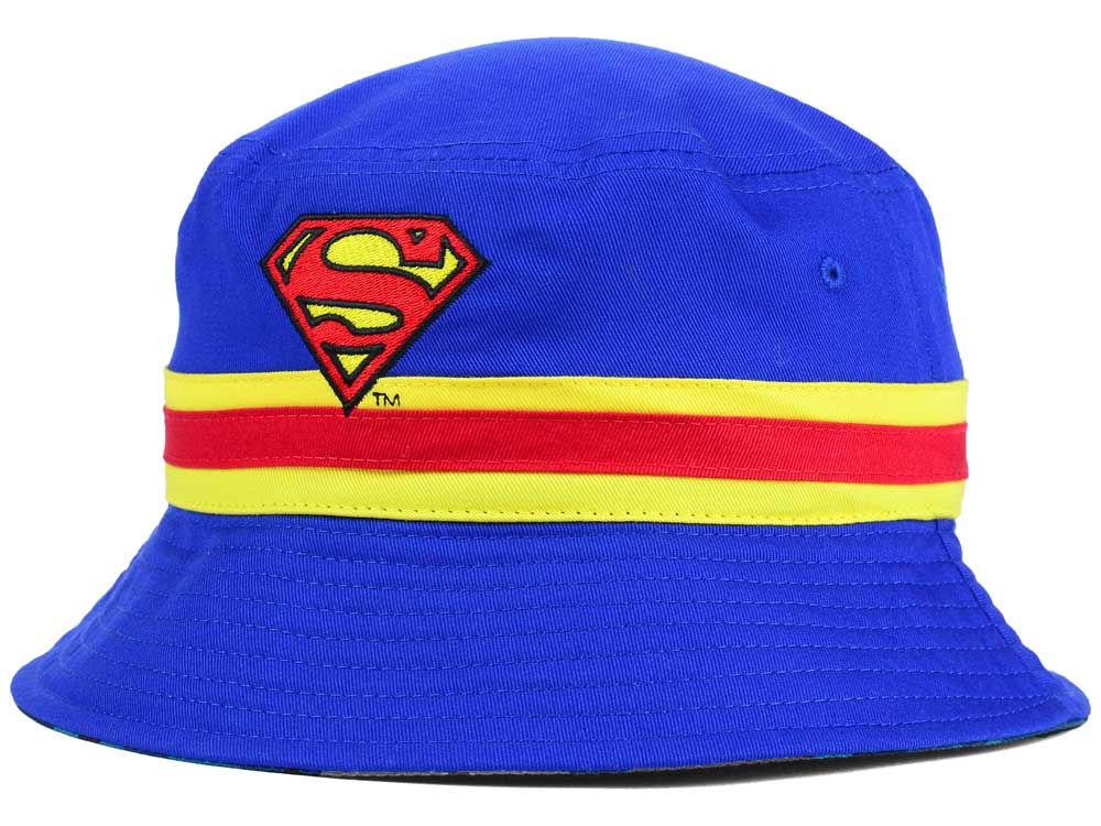 d904b64d1f0 Superman Reversible Camo Bucket Hat