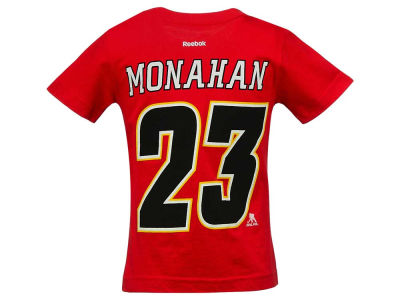 Calgary Flames Sean Monahan NHL CN Kids Player T-Shirt