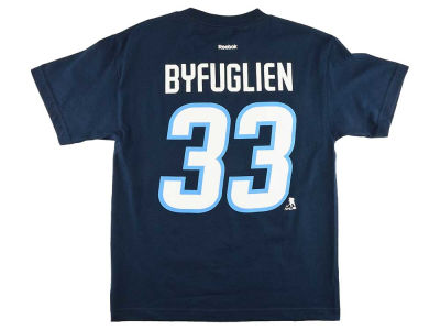 Winnipeg Jets Dustin Byfuglien NHL CN Youth Player T-Shirt