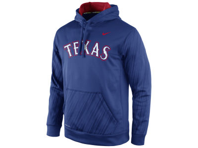Texas Rangers Nike MLB Men's Speed KO Hoodie