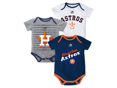 Houston Astros MLB Newborn  TP 3-Piece Set