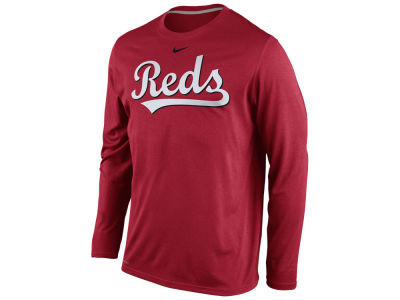 Cincinnati Reds Nike MLB Men's Legend Long Sleeve T-Shirt