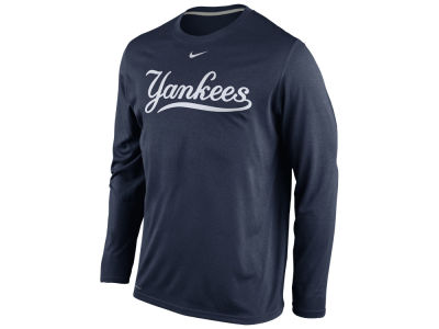 New York Yankees Nike MLB Men's Legend Long Sleeve T-Shirt