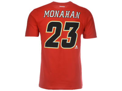 Calgary Flames Sean Monahan Reebok NHL CN Youth Player T-Shirt