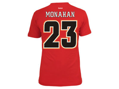 Calgary Flames Sean Monahan Reebok NHL CN Player T-Shirt