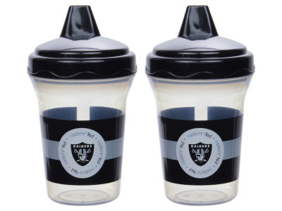 Oakland Raiders 2-pack Sippy Cup Set