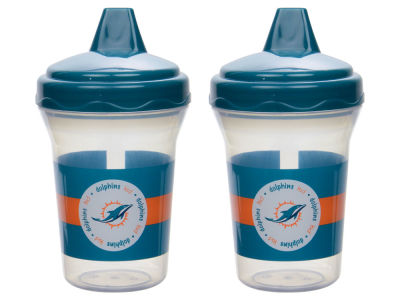 Miami Dolphins 2-pack Sippy Cup Set