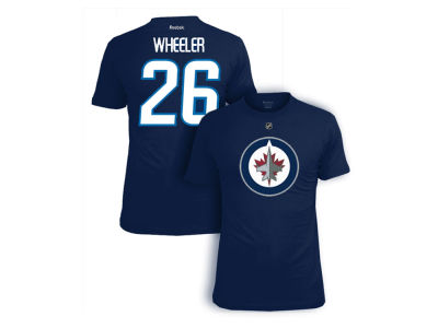 Winnipeg Jets Blake Wheeler Reebok NHL CN Player T-Shirt
