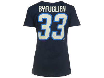 Winnipeg Jets Dustin Byfuglien Reebok NHL CN Womens Player T-Shirt