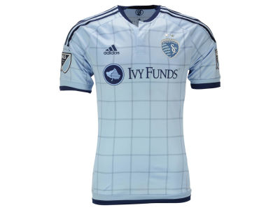 Sporting Kansas City adidas MLS Men's Primary Authentic Jersey