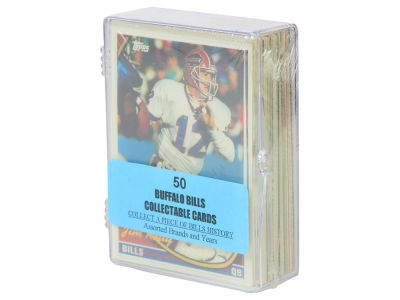 Buffalo Bills 50 Card Pack-Assorted