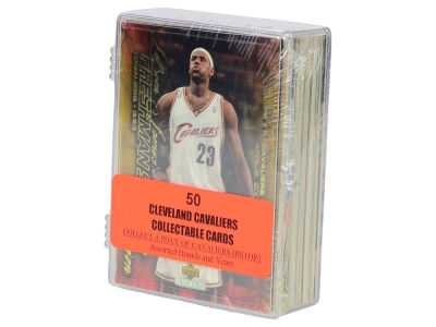 Cleveland Cavaliers 50 Card Pack-Assorted