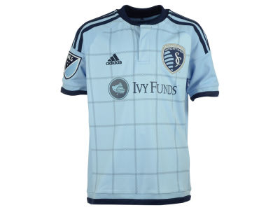 Sporting Kansas City adidas MLS Youth Primary Replica Jersey