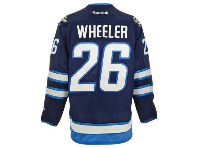 Winnipeg Jets Blake Wheeler Reebok NHL CN PT Premier Player Jersey
