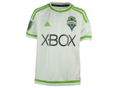 Seattle Sounders FC adidas MLS Youth Secondary Replica Jersey