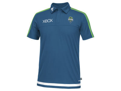 Seattle Sounders FC adidas MLS Men's Game Wear Polo Shirt
