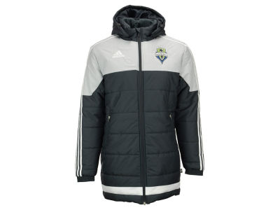 Seattle Sounders FC adidas MLS Men's Heavyweight Stadium Jacket