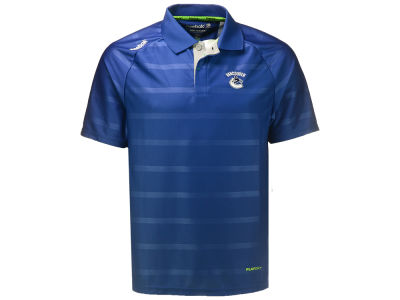 Vancouver Canucks Reebok NHL Men's Center Ice Team Polo
