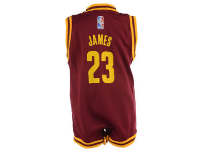 Cleveland Cavaliers LeBron James NBA Infant Replica Jersey