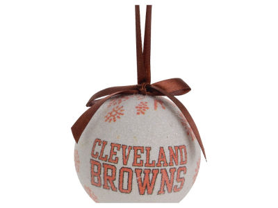 Cleveland Browns LED Boxed Ornament Set