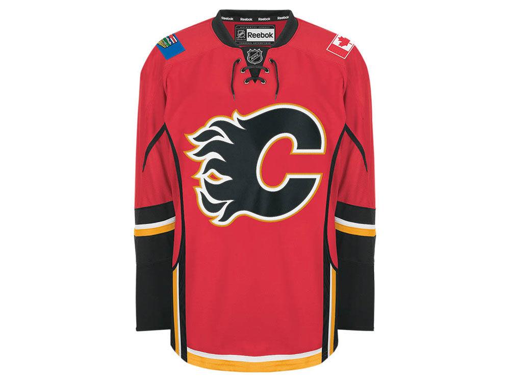 Calgary Flames Reebok NHL Authentic Jersey  187a4dba77a
