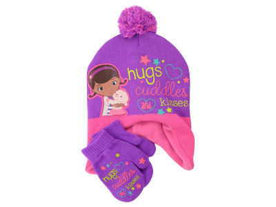 Disney Doc McStuffins Toddler Peruvian Pom Knit