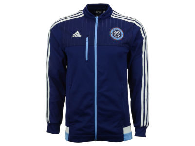 New York City FC adidas MLS Men's Anthem Full Zip Track Jacket
