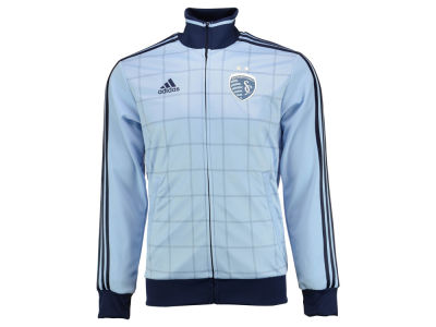 Sporting Kansas City adidas MLS Men's Anthem Full Zip Track Jacket