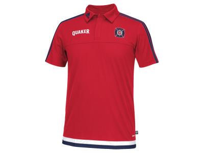 Chicago Fire adidas MLS Men's Game Wear Polo Shirt