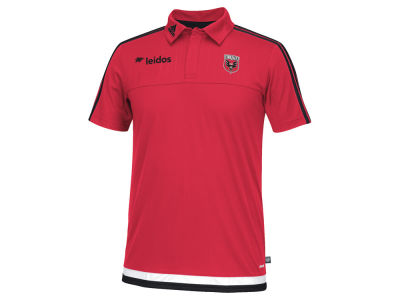 DC United adidas MLS Men's Game Wear Polo Shirt