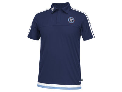 New York City FC adidas MLS Men's Game Wear Polo Shirt