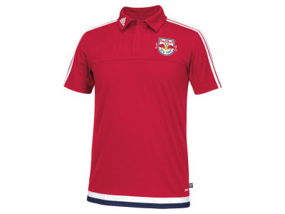 New York Red Bulls adidas MLS Men's Game Wear Polo Shirt