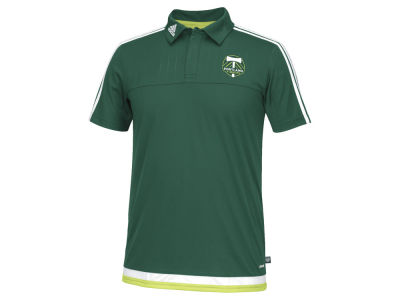 Portland Timbers adidas MLS Men's Game Wear Polo Shirt