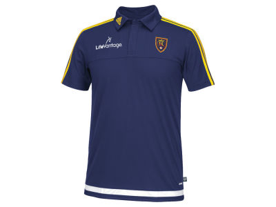 Real Salt Lake adidas MLS Men's Game Wear Polo Shirt