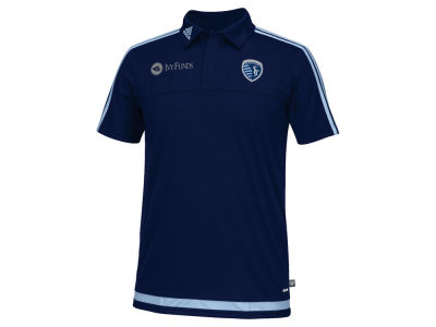 Sporting Kansas City adidas MLS Men's Game Wear Polo Shirt