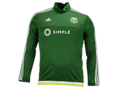 Portland Timbers adidas MLS Men's Pre-Game Training Long Sleeve Shirt