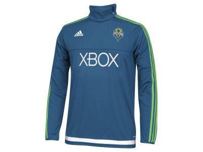 Seattle Sounders FC adidas MLS Men's Pre-Game Training Long Sleeve Shirt