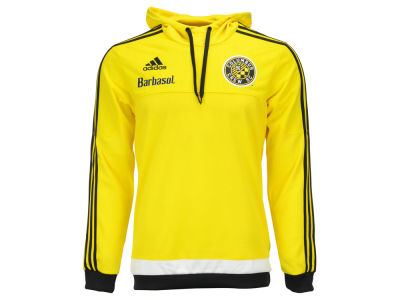 Columbus Crew SC adidas MLS Men's Pullover Travel Hoodie