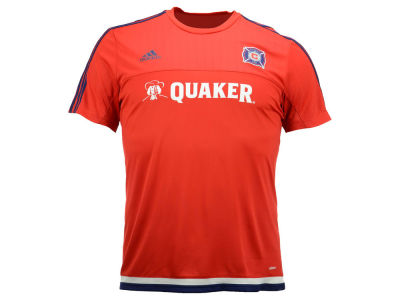 Chicago Fire adidas MLS Men's Pre-Game Training Shirt