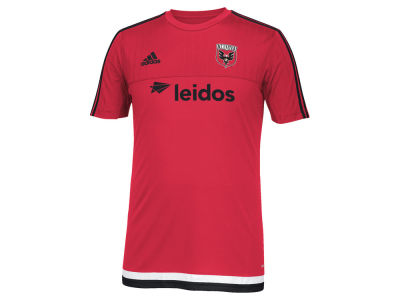 DC United adidas MLS Men's Pre-Game Training Shirt